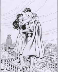 Rio/Marzan Superman inks
