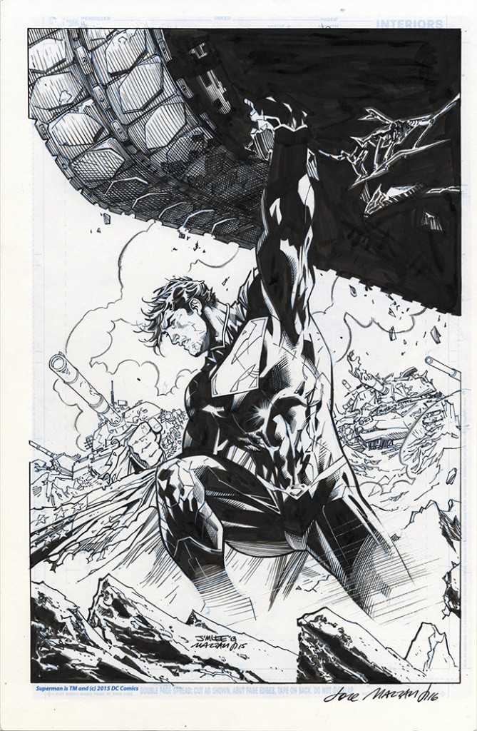 Superman Sketch Jim Lee Galleryhipcom The Hippest